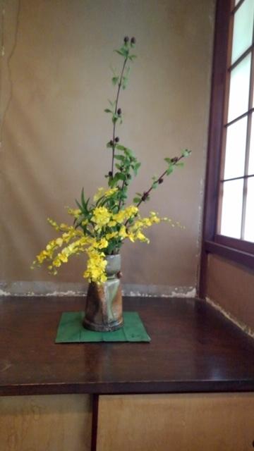 邸内に生けられた花 5月_d0344754_11413502.jpg