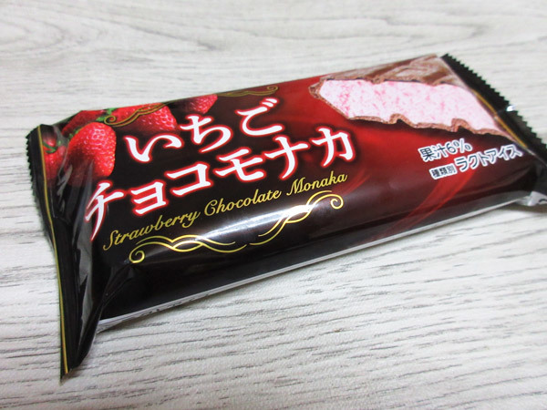 いちごチョコモナカ@森永乳業_c0152767_23384352.jpg