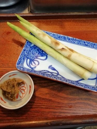 三五竹焼き物、蕗の薹味噌_e0116211_18162059.jpg