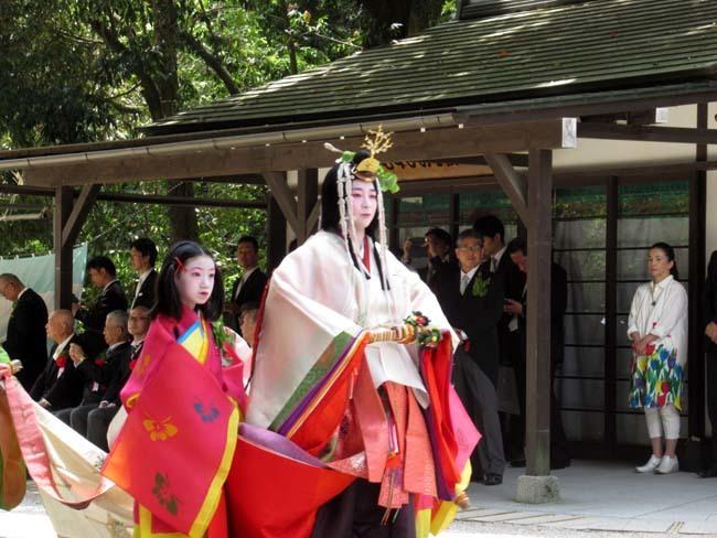 葵まつり 2 下賀茂神社社頭の儀へ_e0048413_20022195.jpg