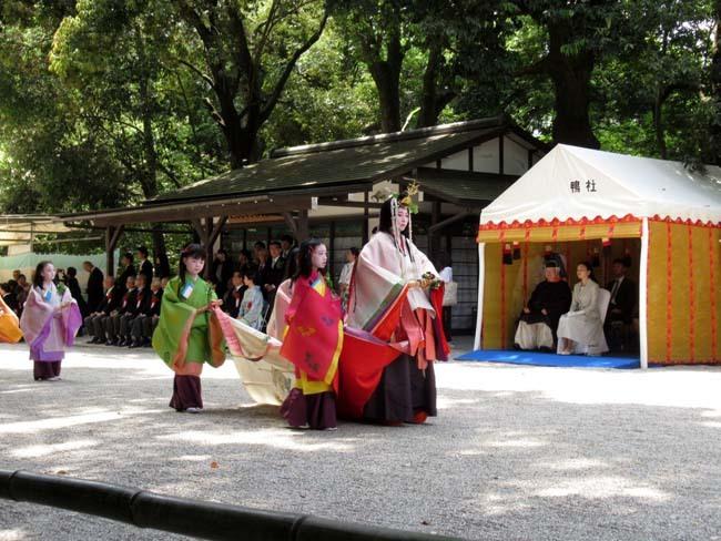 葵まつり 2 下賀茂神社社頭の儀へ_e0048413_20022480.jpg