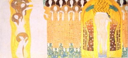 ウィーン分離派の記念碑的芸術建築・クリムト『ベートーヴェン・フリーズ』_a0113718_01085146.jpg