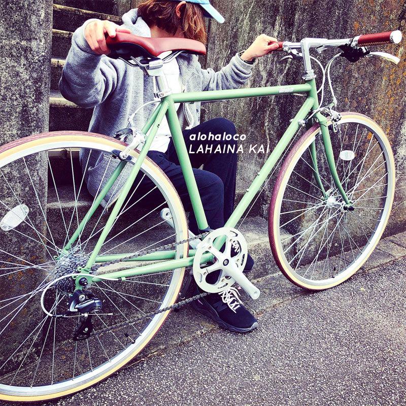alohaloco アロハロコ LAHAINA KAI ラハイナ カイ 700c クロスバイク 自転車女子 自転車ガール おしゃれ自転車_b0212032_17500024.jpeg