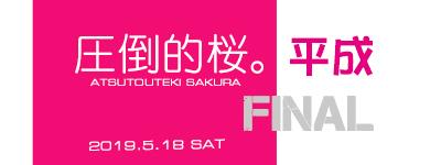 圧倒的桜。平成FINAL_e0363038_14415130.jpg