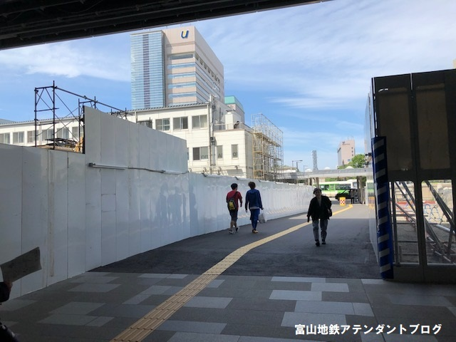 南北接続までの富山駅の様子をお届けします♪_a0243562_11444916.jpg