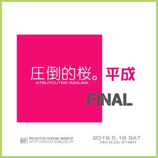 みあげた 空  圧倒的桜。平成FINAL_c0319774_23592477.jpg