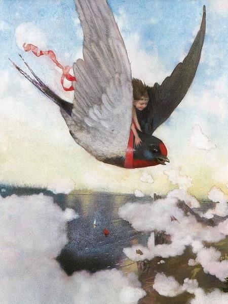 Nadezhda Illarionova画の「おやゆびひめ」_c0084183_16565147.jpg