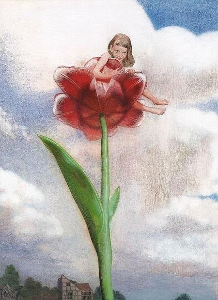 Nadezhda Illarionova画の「おやゆびひめ」_c0084183_16572044.jpg