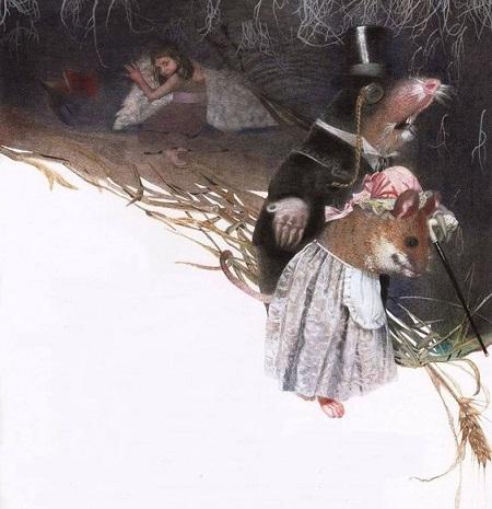 Nadezhda Illarionova画の「おやゆびひめ」_c0084183_1657379.jpg