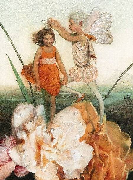 Nadezhda Illarionova画の「おやゆびひめ」_c0084183_16575427.jpg