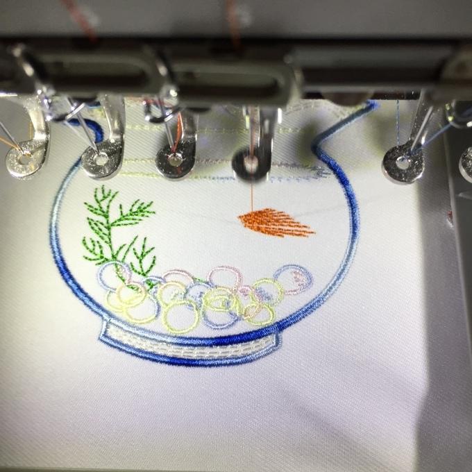 金魚鉢には金魚を(^^)_e0385587_15145871.jpeg