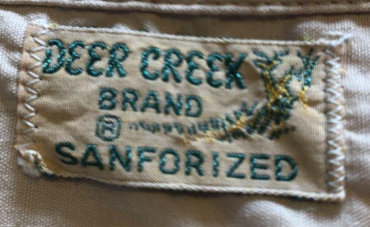 5月18日(土)入荷!50s ワンウォッシュ Deer Creek  all cotton ボックス 開襟シャツ!_c0144020_13300296.jpg