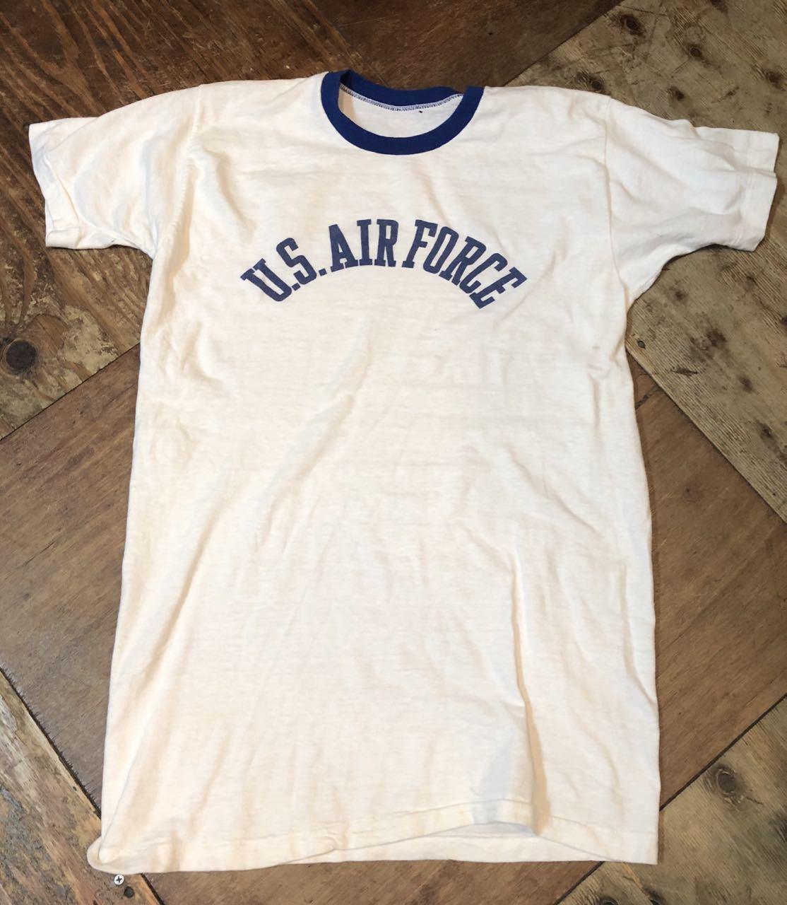 5月18日(土)入荷! 70s  U.S.A.F  all cotton 染み込み Tシャツ!_c0144020_13360368.jpg