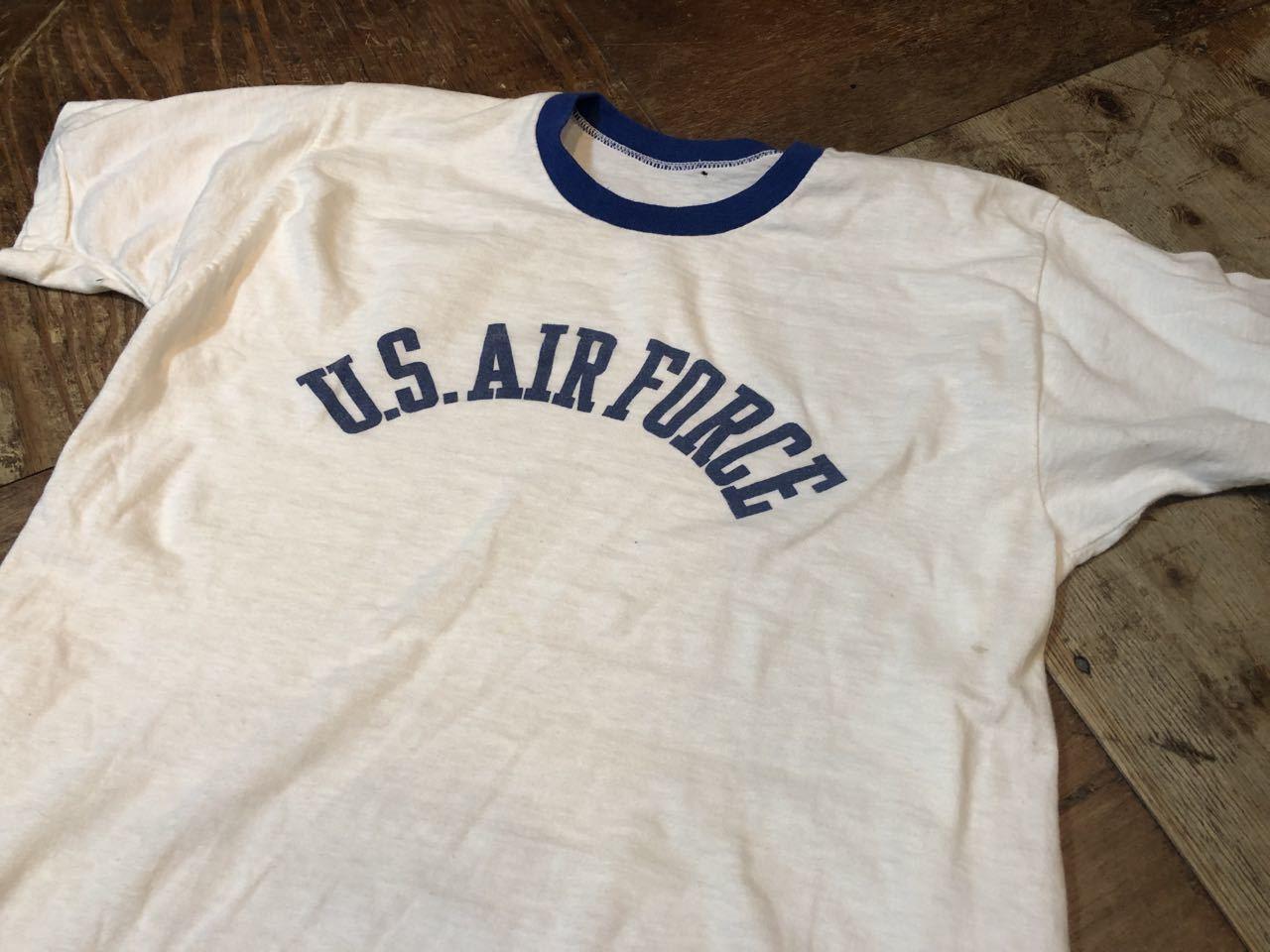 5月18日(土)入荷! 70s  U.S.A.F  all cotton 染み込み Tシャツ!_c0144020_13360420.jpg