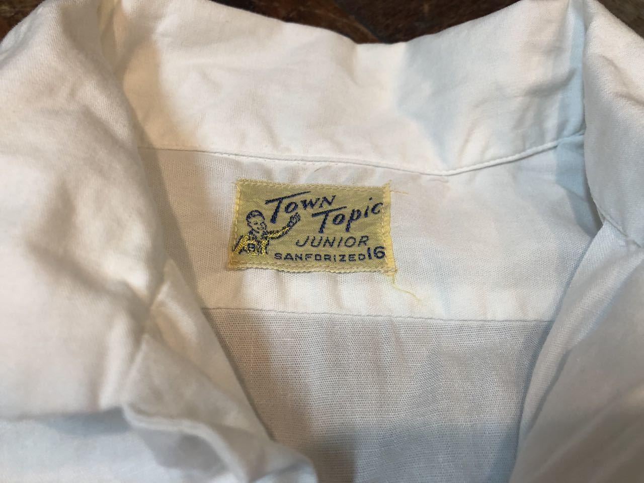 5月18日(土)入荷!50s TOWN TOPICS all cotton ボックス、開襟シャツ!_c0144020_13400766.jpg