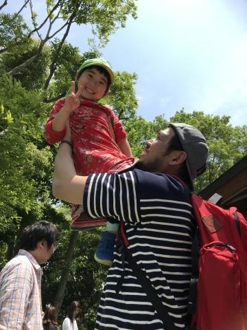 保育園最後の親子遠足♪_f0191324_07334445.jpg