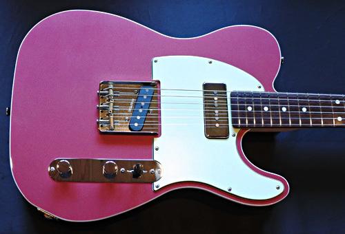 「Cassis Pink Pearl MetallicのStandard-T」1本目が完成!_e0053731_16473639.jpg