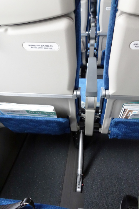 大韓航空 KE710便 羽田ー金浦 B777-300 と KE713便 釜山ー成田 A220-300 エコノミークラスの機内食と機材 2019年4月 ソウル・大田・釜山の旅(1)_f0117059_21192344.jpg