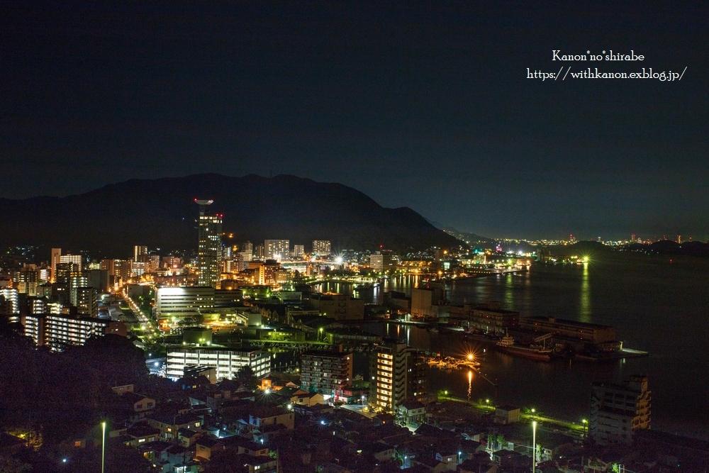 和布刈公園からの夜景_d0148187_22505040.jpg