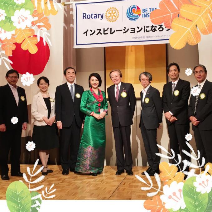 日本で3番目に歴史が長い神戸ロータリークラブ様❣️_c0162404_10394110.jpg