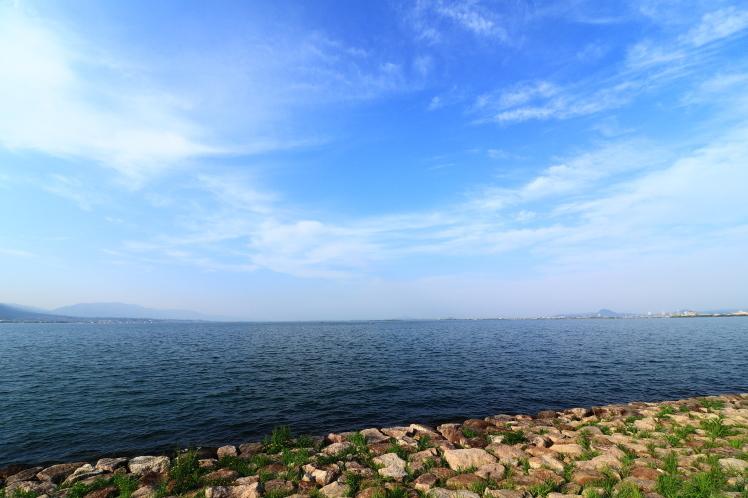 琵琶湖 ミシガンクルーズ_f0209122_12032838.jpg