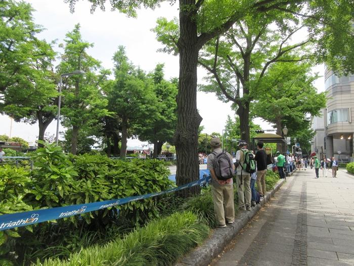 【モントレ横浜にランチに行ったら目の前でトライアスロンをやっていた】_b0009849_21213838.jpg