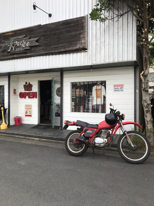 本日のバイク!_f0194657_19175981.jpg