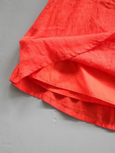 Ordinary fits TRAVEL SKIRT linen / RED_b0139281_12414959.jpg