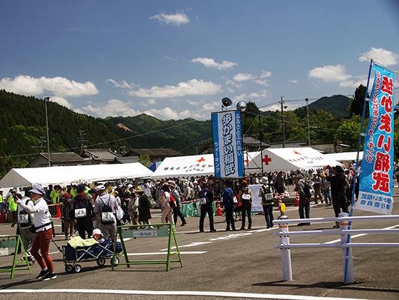 ウォーキング大会「歩かまい稲武」に出店しました。_c0194003_16545363.jpg
