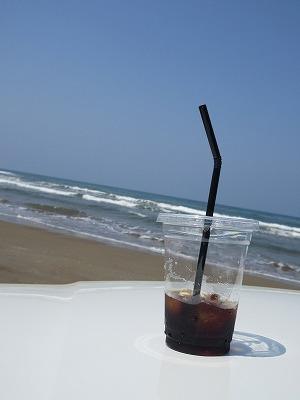 千里浜を走って、道の駅の美味しいものを食べる♪_b0143308_21504075.jpg