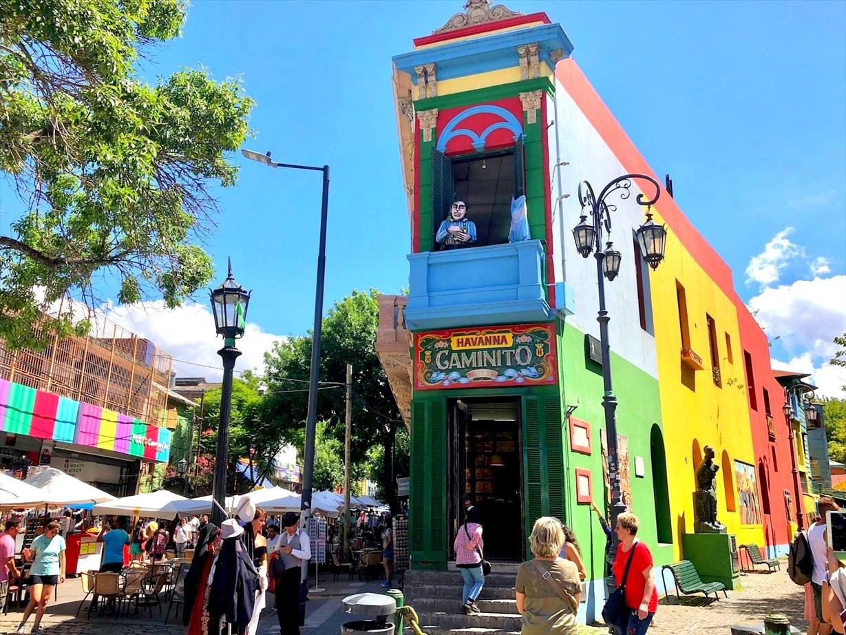 """中南米の旅/42 カラフル過ぎる街""""ボカ地区""""カミニート@ブエノスアイレス_a0092659_22325203.jpg"""