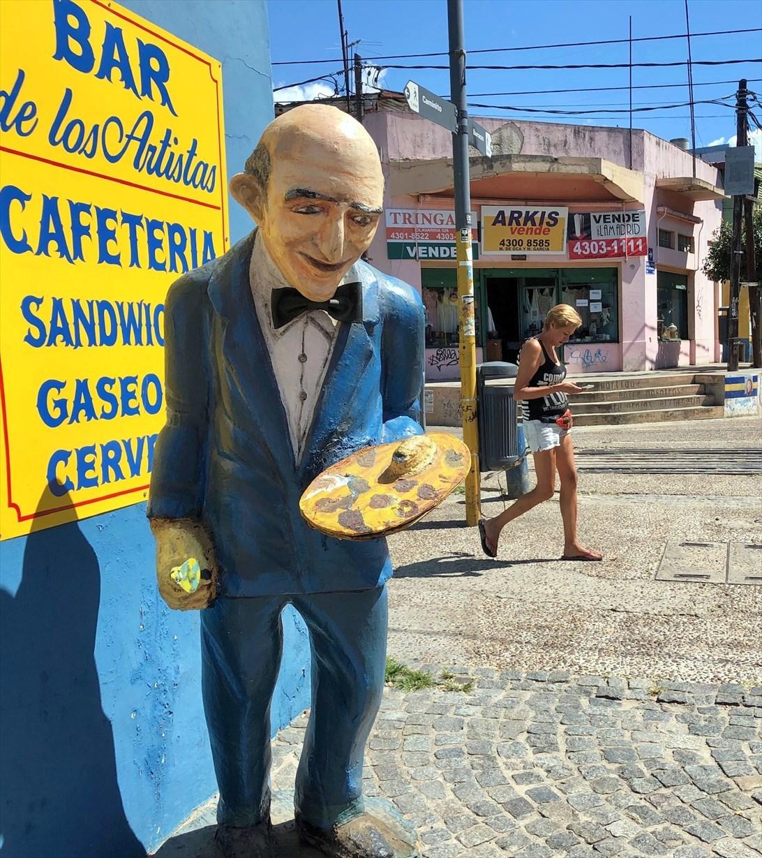 """中南米の旅/42 カラフル過ぎる街""""ボカ地区""""カミニート@ブエノスアイレス_a0092659_23111382.jpg"""