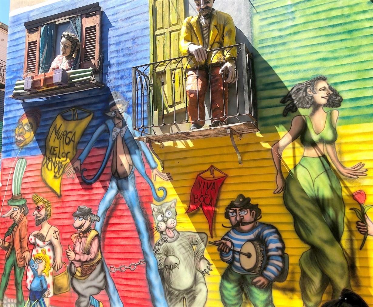 """中南米の旅/42 カラフル過ぎる街""""ボカ地区""""カミニート@ブエノスアイレス_a0092659_23313525.jpg"""