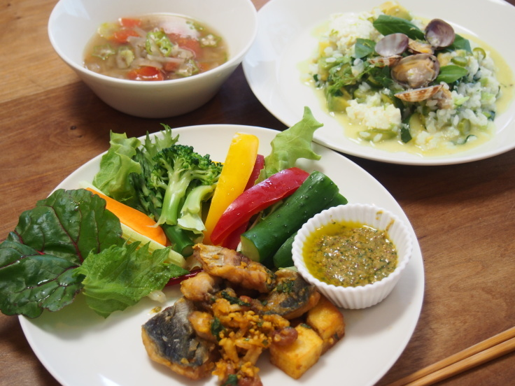 野菜たっぷりおもてなしごはんの会 5月 _d0128268_10483886.jpg