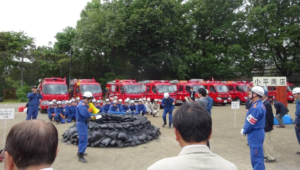 小平市総合水防訓練_f0059673_21071016.jpg