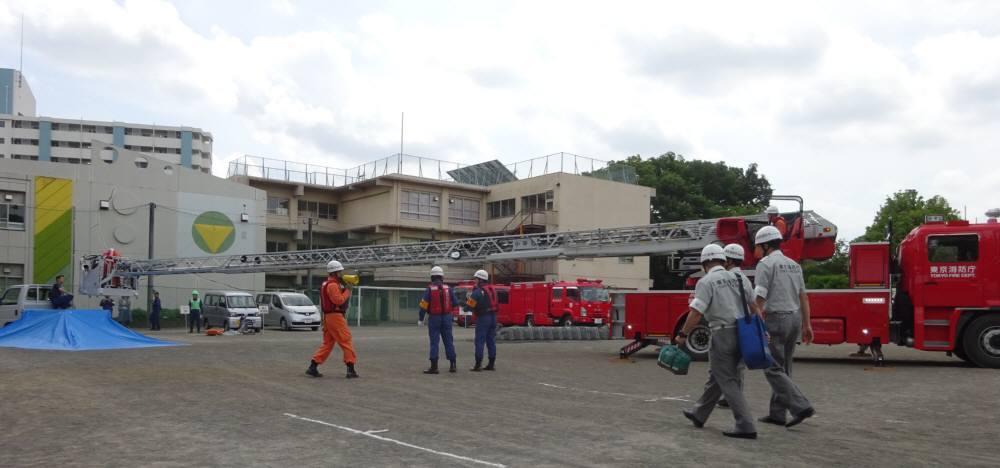 小平市総合水防訓練_f0059673_21072047.jpg