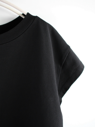 blurhms Super Hard Twisted Boat-Neck S/S - Black (LADIES ONLY)_b0139281_12254030.jpg