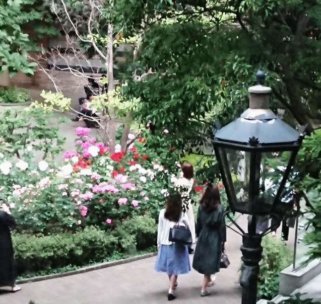 三菱一号館美術館の中庭_a0106989_12324864.jpg
