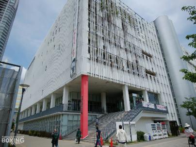 Dangan in  Sumida 墨田区総合体育館_a0134296_12290255.jpg