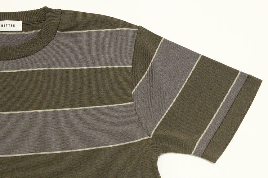"BETTER (ベター) "" BORDER CREW NECK PULL-OVER \""_b0122806_12323780.jpg"