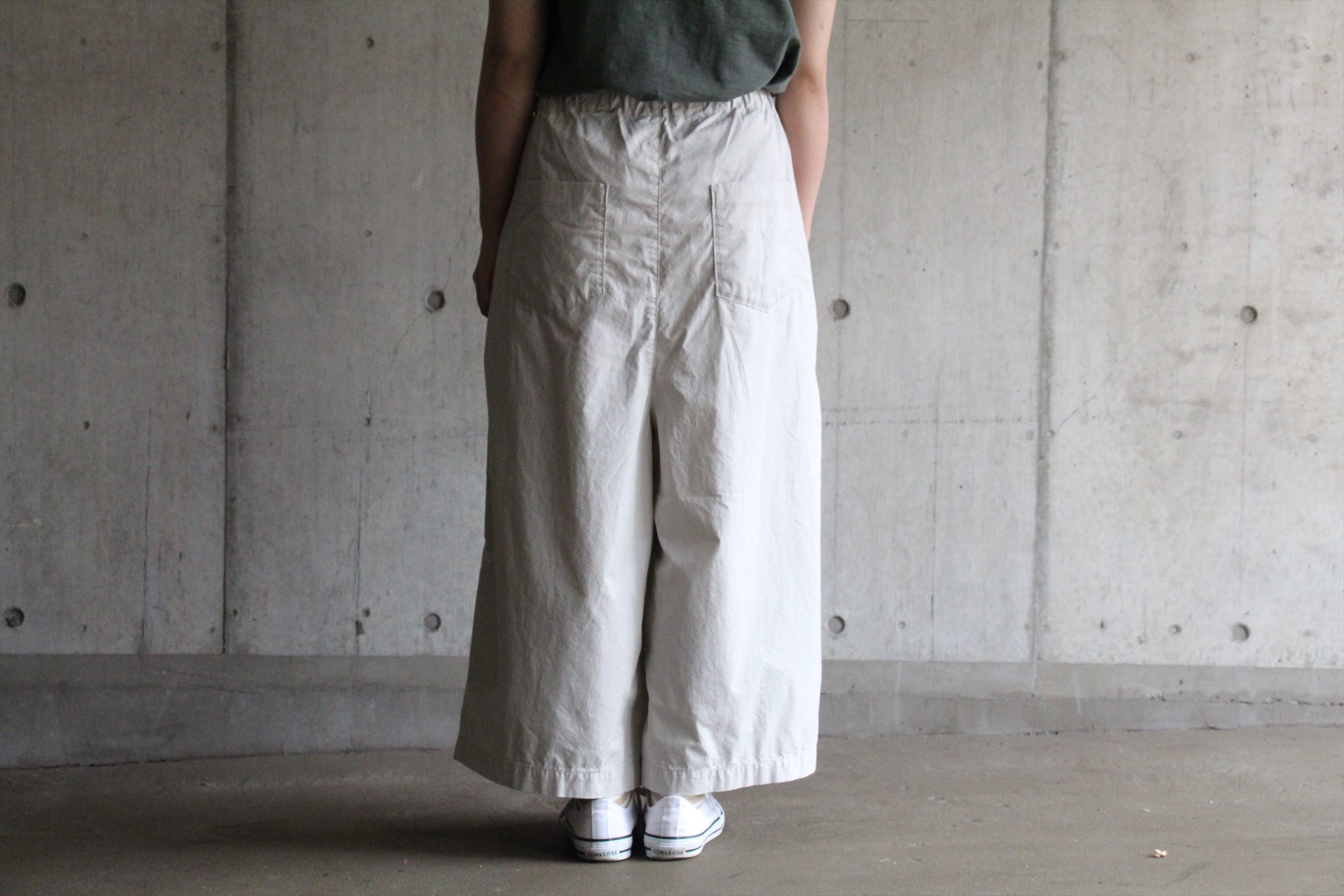 tumugu: スカートパンツ_b0165512_15325103.jpg