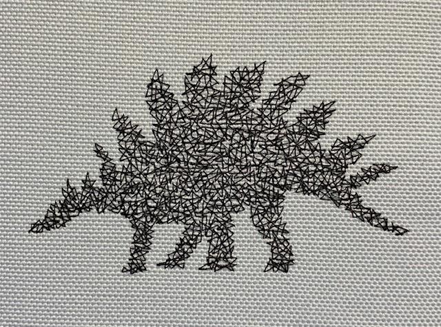 マルチスピナスの蜘蛛の巣刺繍♪_c0316026_18141430.jpg