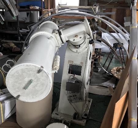 アスコ SE350型赤道儀 自動導入改造_c0061727_11433115.jpg