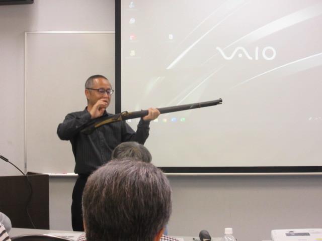 火縄銃の講座に会場は満席に!_d0247833_13393609.jpg