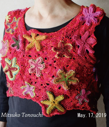 手間・・・     troublesome knitting_b0029036_12021313.jpg