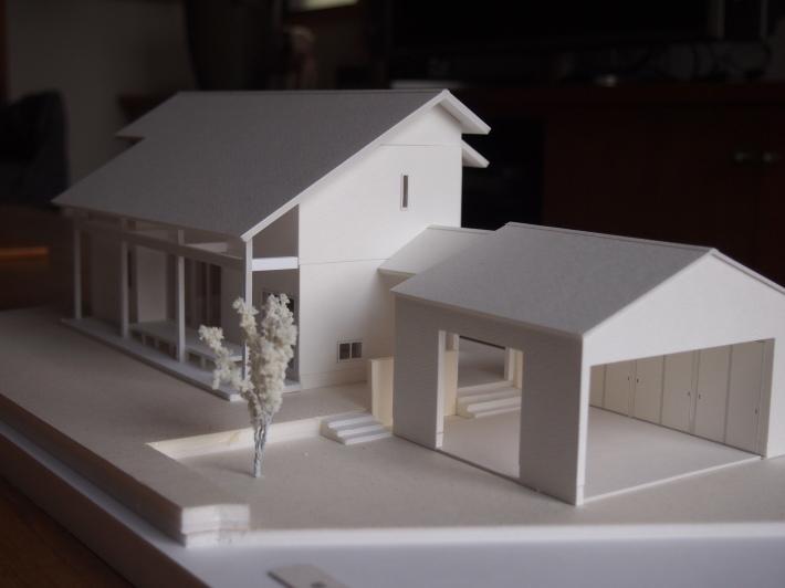 山梨の家☆ペットと暮らす家の模型完成!_c0152341_15113350.jpg