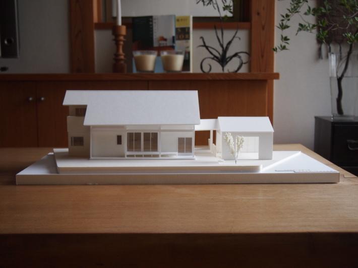 山梨の家☆ペットと暮らす家の模型完成!_c0152341_15115706.jpg