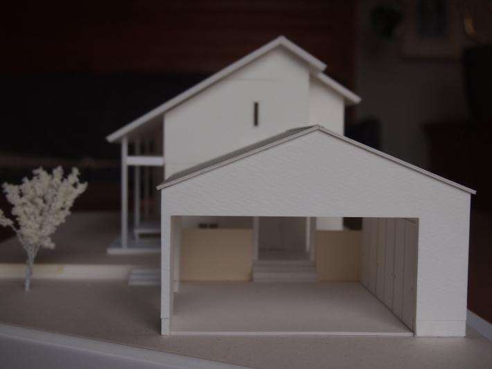 山梨の家☆ペットと暮らす家の模型完成!_c0152341_15262821.jpg
