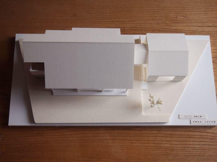 山梨の家☆ペットと暮らす家の模型完成!_c0152341_15380615.jpg