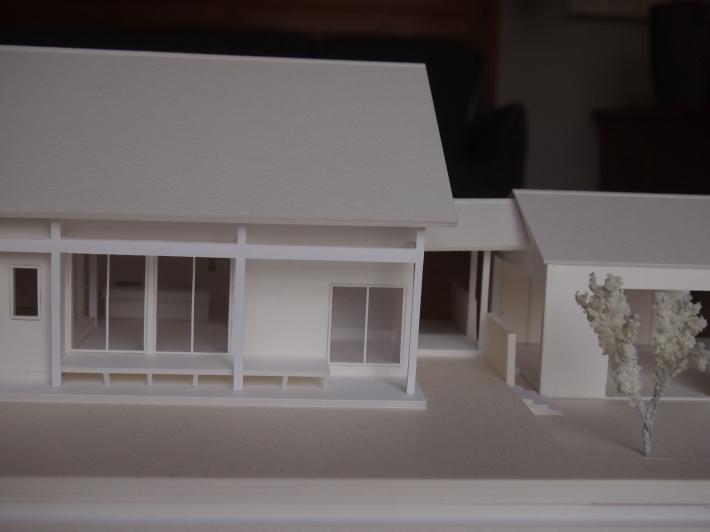 山梨の家☆ペットと暮らす家の模型完成!_c0152341_15383991.jpg